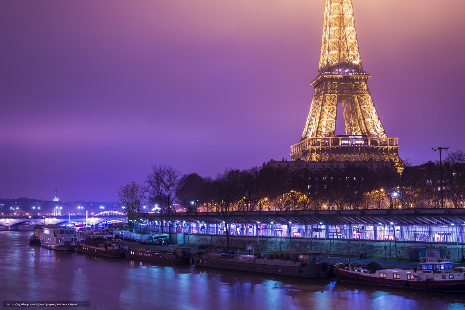 Download wallpaper Eiffel Tower,  Paris,  France,  Eiffel Tower free desktop wallpaper in the resolution 6016x4016 — picture №657053