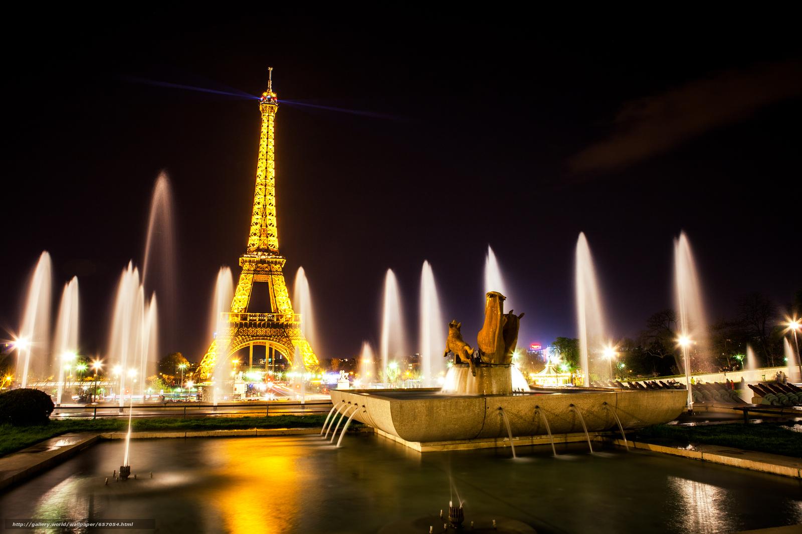 Descargar gratis Torre Eiffel,  París,  Francia,  Torre Eiffel Fondos de escritorio en la resolucin 2400x1600 — imagen №657054