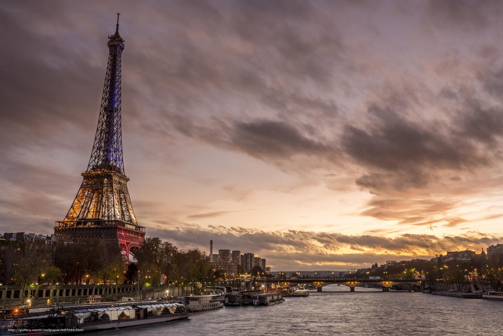 Скачать обои Eiffel Tower,  Paris,  France,  Эйфелева башня бесплатно для рабочего стола в разрешении 6015x4015 — картинка №657055