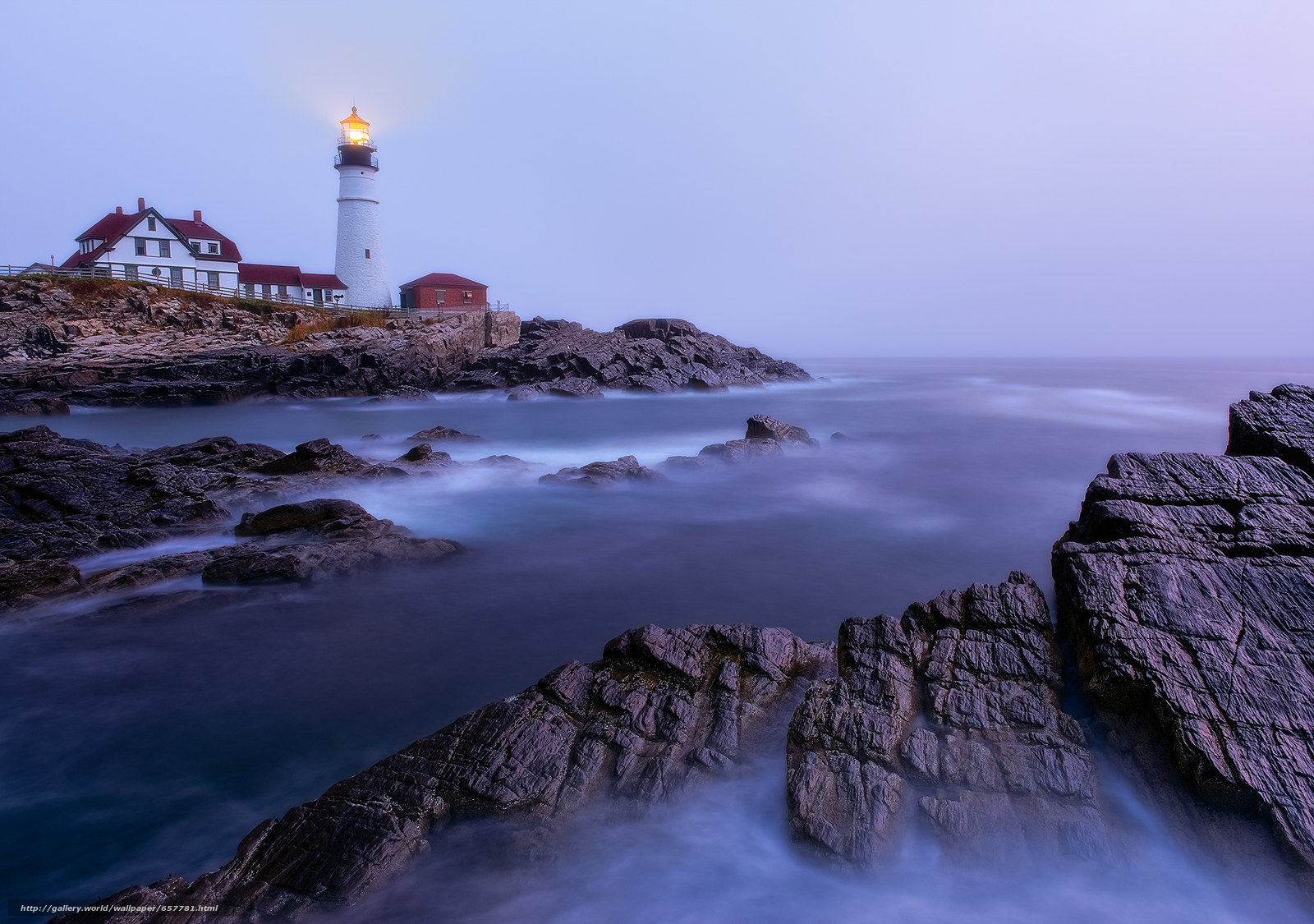 Download wallpaper Portland Head Light,  Cape Elizabeth,  Maine,  lighthouse free desktop wallpaper in the resolution 2000x1406 — picture №657781