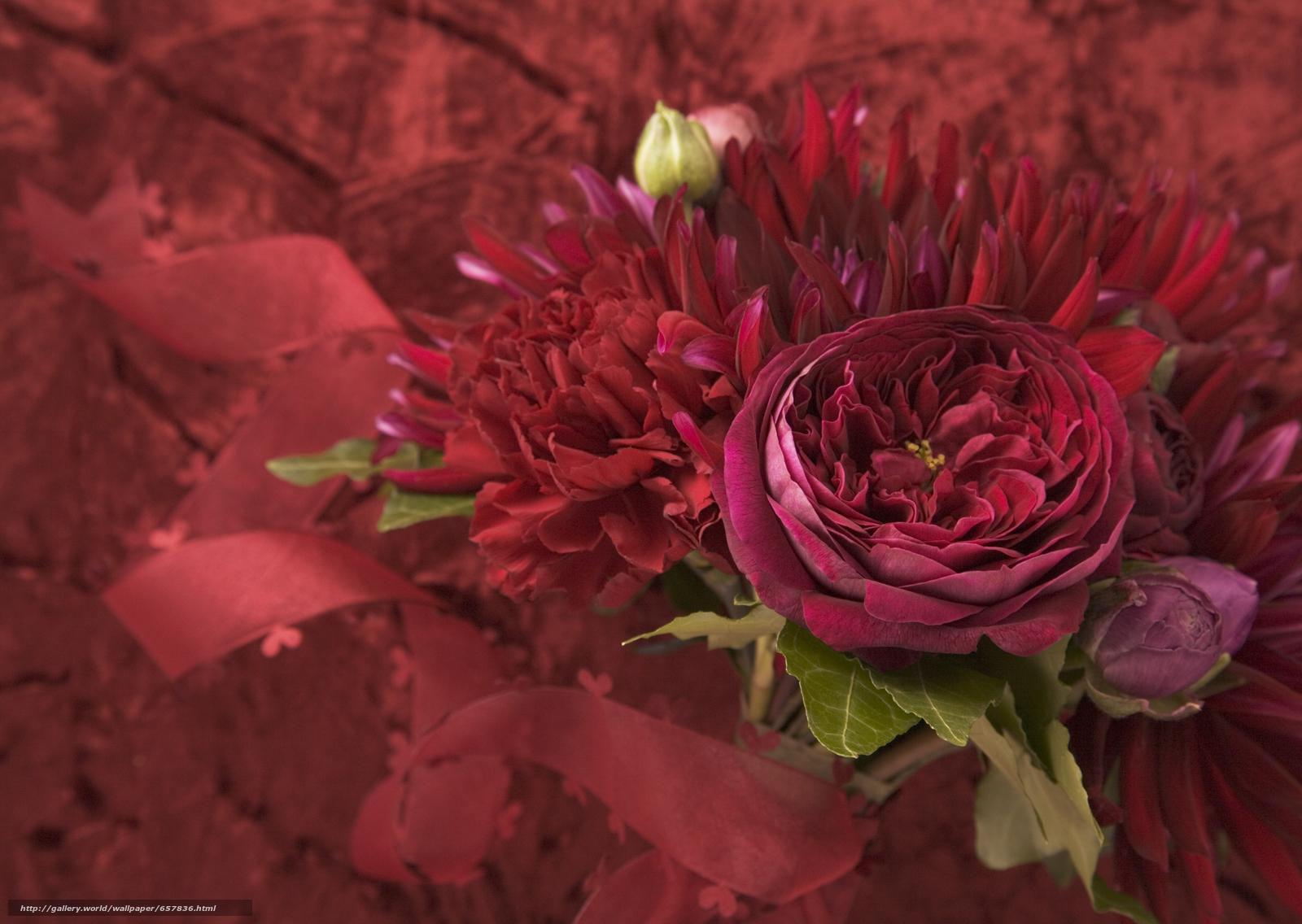 Скачать обои цветы,  цветок,  букет,  композиция бесплатно для рабочего стола в разрешении 2950x2094 — картинка №657836