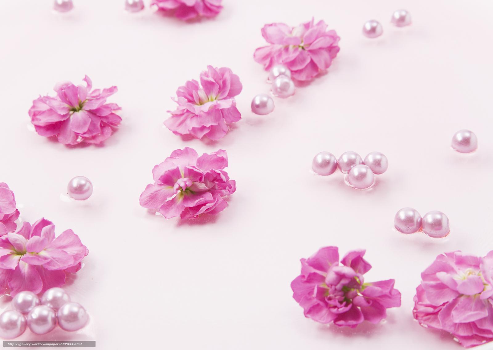 Скачать обои цветы,  бусины,  композиция,  праздник бесплатно для рабочего стола в разрешении 2950x2094 — картинка №657855