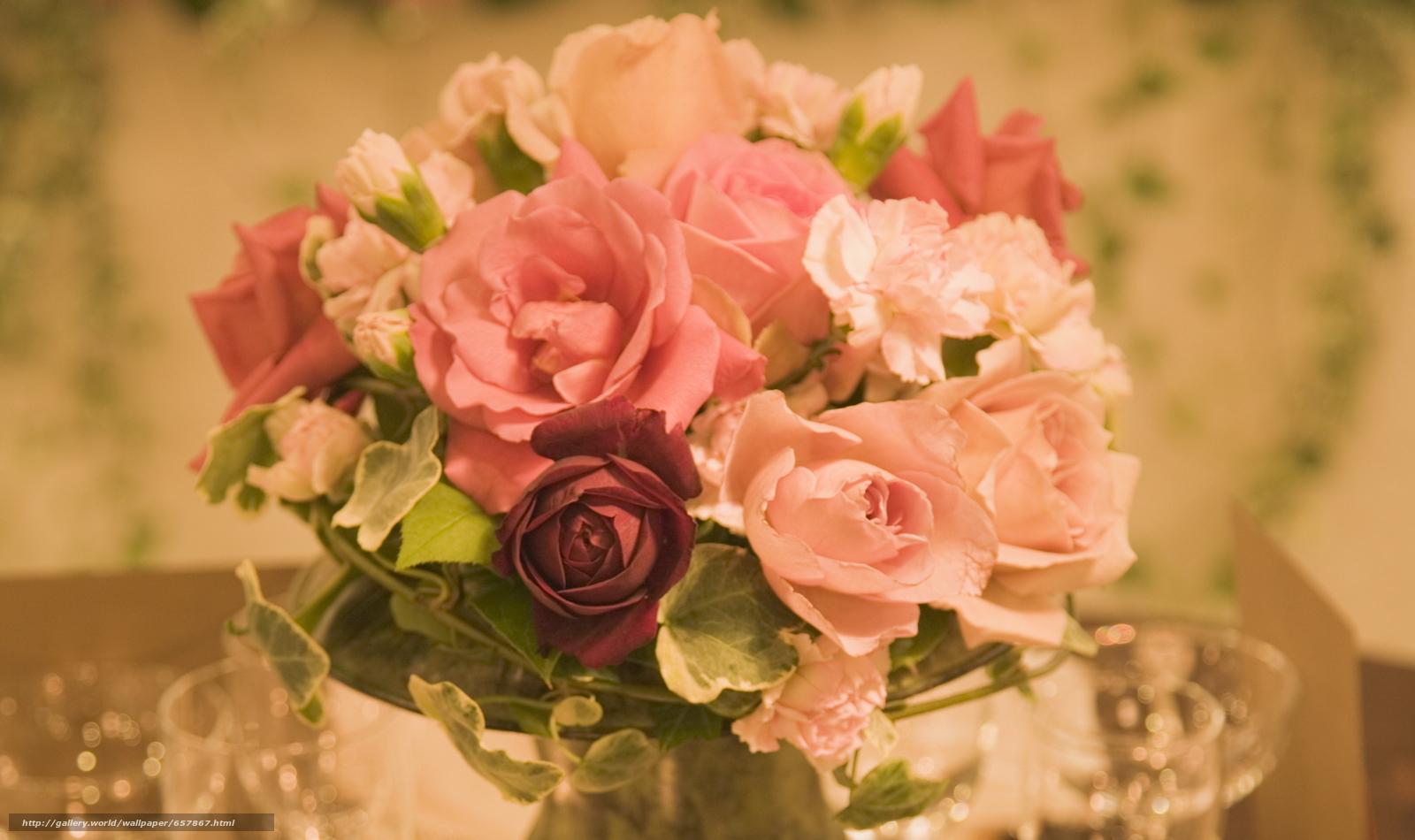 壁紙をダウンロード フラワーズ,  花,  ローズ,  バラ デスクトップの解像度のための無料壁紙 2088x1240 — 絵 №657867