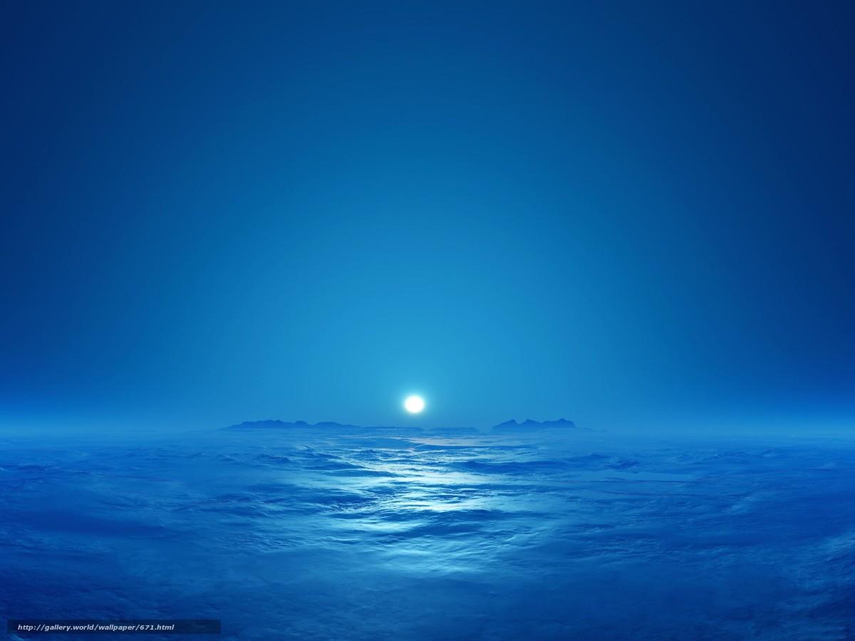 Скачать обои небо,  солнце,  облака бесплатно для рабочего стола в разрешении 1920x1440 — картинка №671