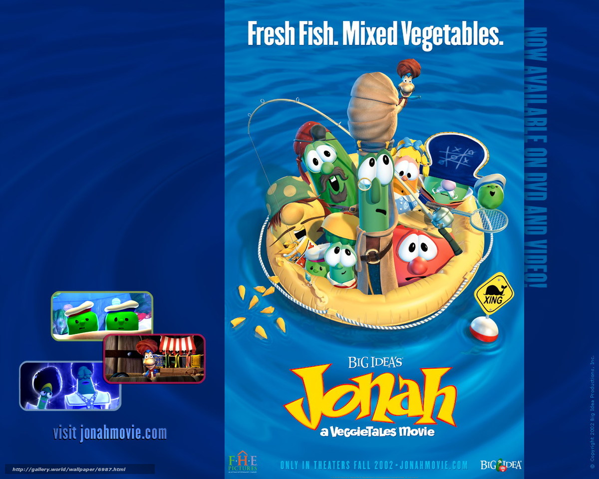 Download wallpaper Pirates in the Land of Vegetables,  Jonah: A VeggieTales Movie,  film,  movies free desktop wallpaper in the resolution 1280x1024 — picture №6987