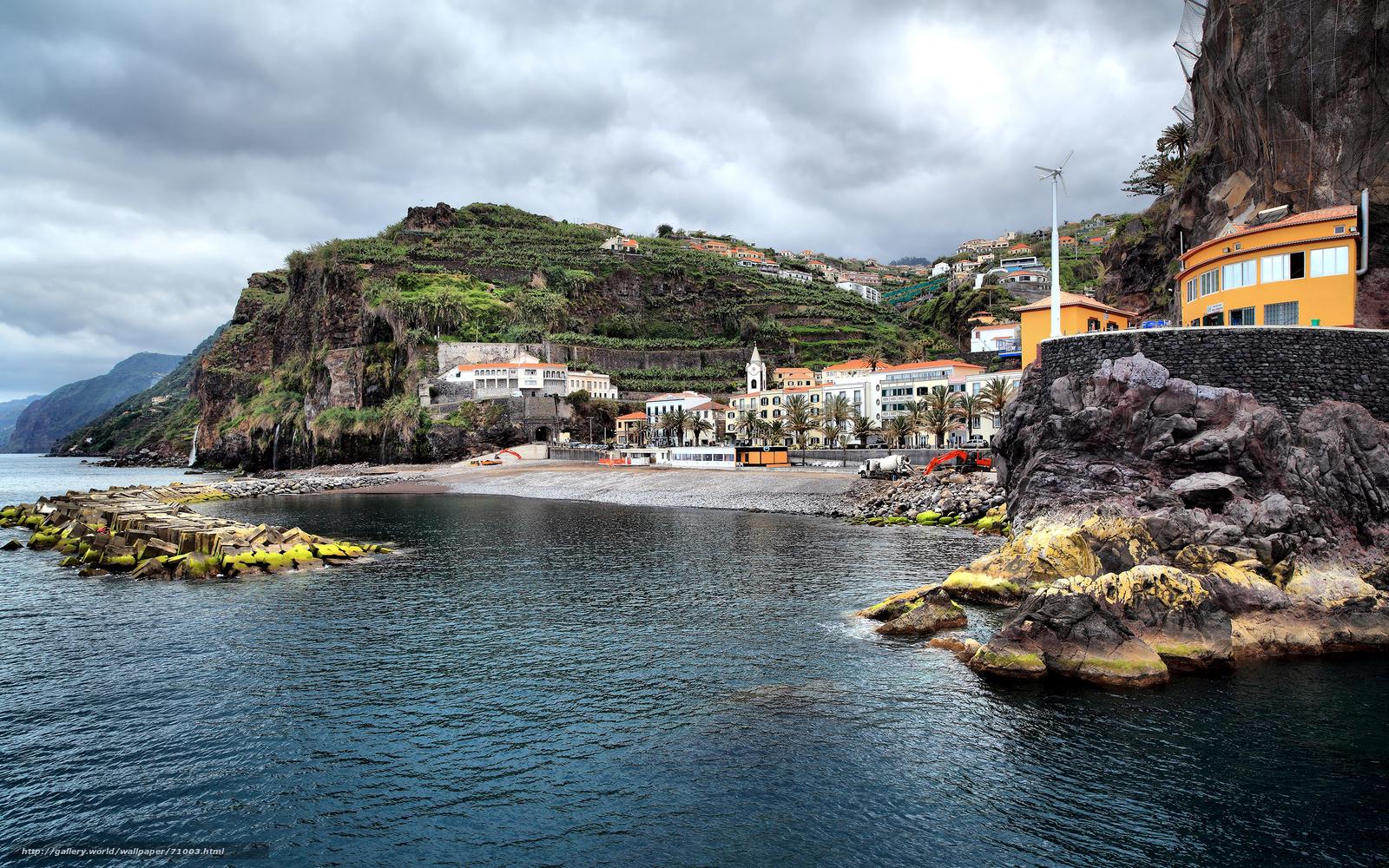 Скачать обои португалия,  океан бесплатно для рабочего стола в разрешении 2560x1600 — картинка №71003