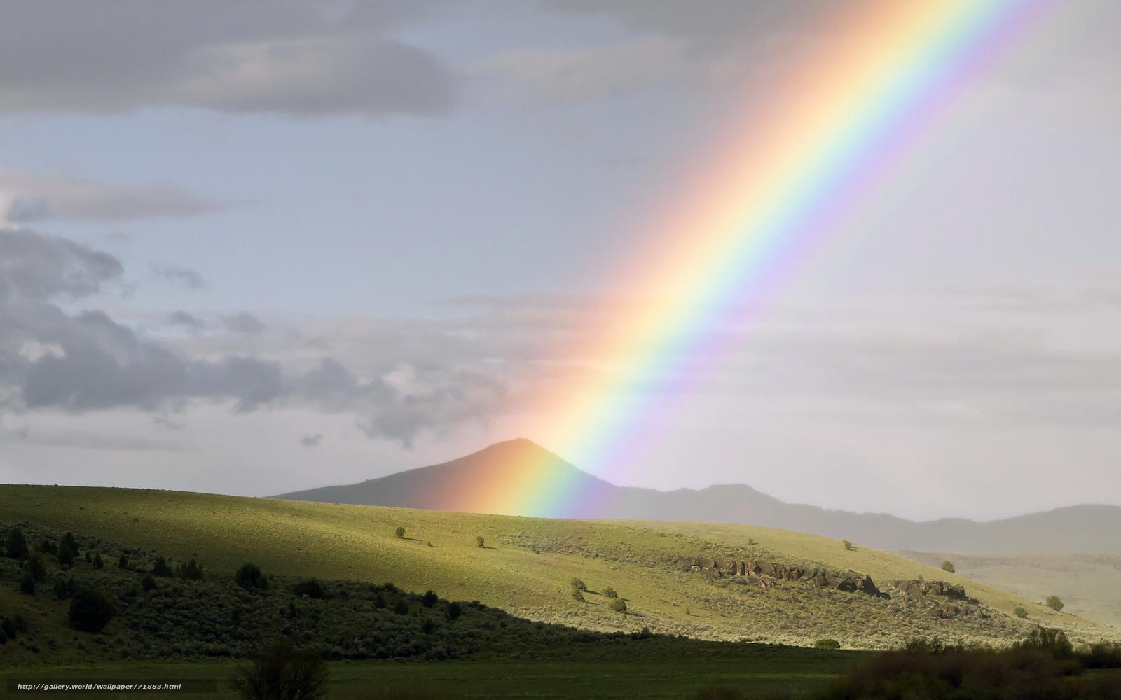 Скачать обои радуга,  митчелл,  орегон,  сша бесплатно для рабочего стола в разрешении 2560x1600 — картинка №71883