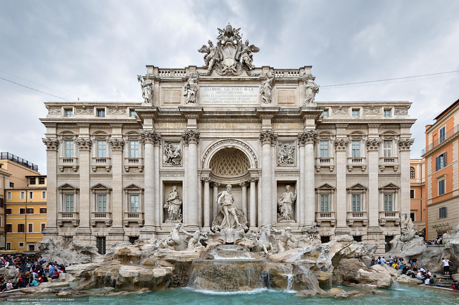 Download wallpaper building,  fountain,  Sculpture free desktop wallpaper in the resolution 3500x2325 — picture №72572