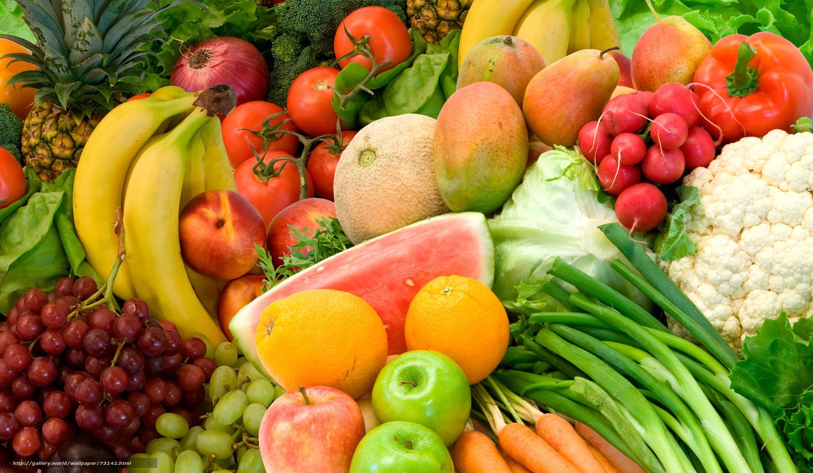 Download wallpaper fruit,  vegetables,  food,  color free desktop wallpaper in the resolution 5000x2912 — picture №73142