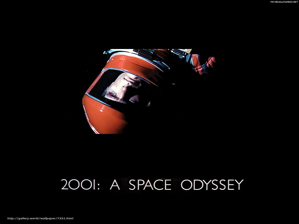 Download wallpaper 2001: A Space Odyssey,  2001: A Space Odyssey,  film,  movies free desktop wallpaper in the resolution 1024x768 — picture №7351
