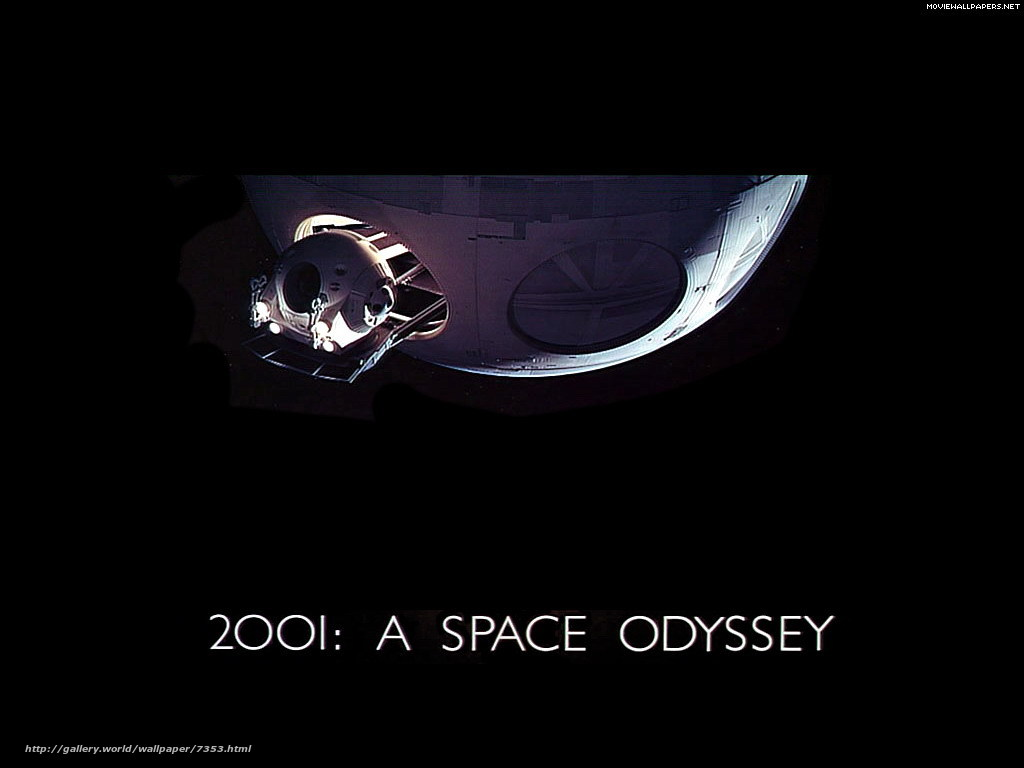 Download wallpaper 2001: A Space Odyssey,  2001: A Space Odyssey,  film,  movies free desktop wallpaper in the resolution 1024x768 — picture №7353