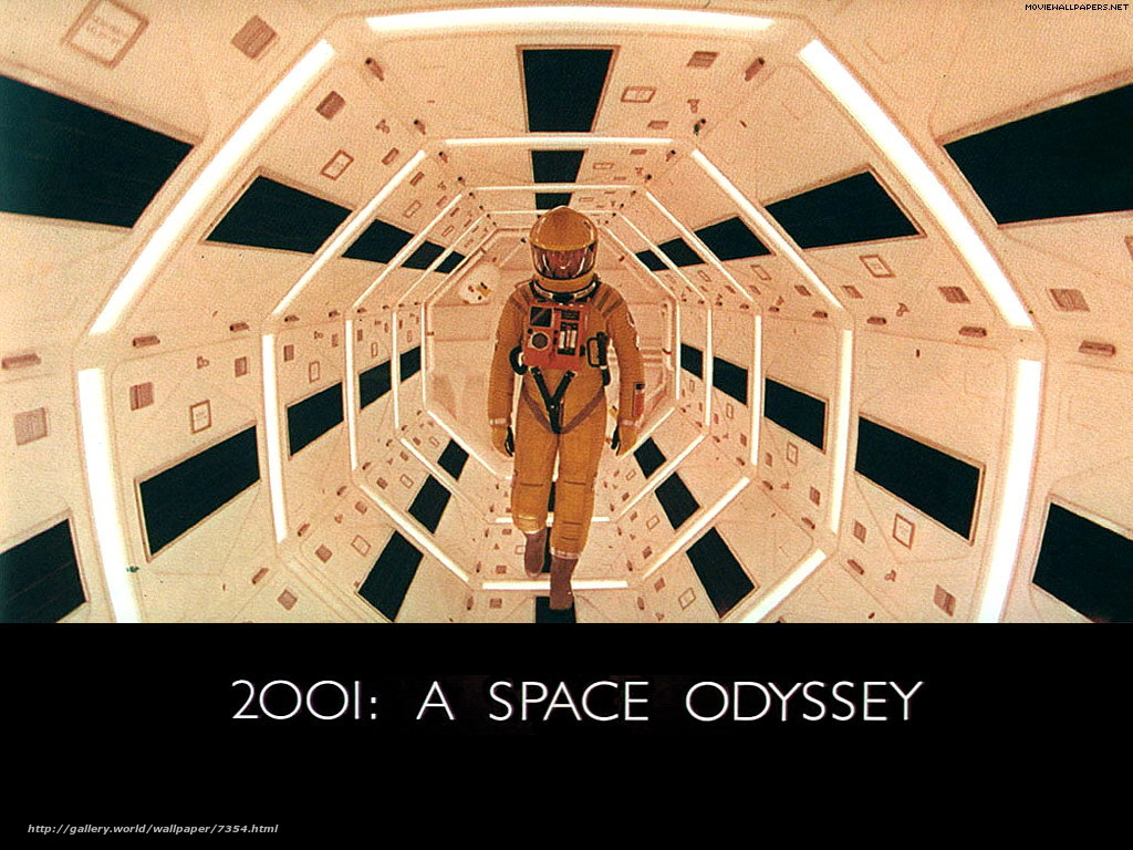 Download wallpaper 2001: A Space Odyssey,  2001: A Space Odyssey,  film,  movies free desktop wallpaper in the resolution 1024x768 — picture №7354