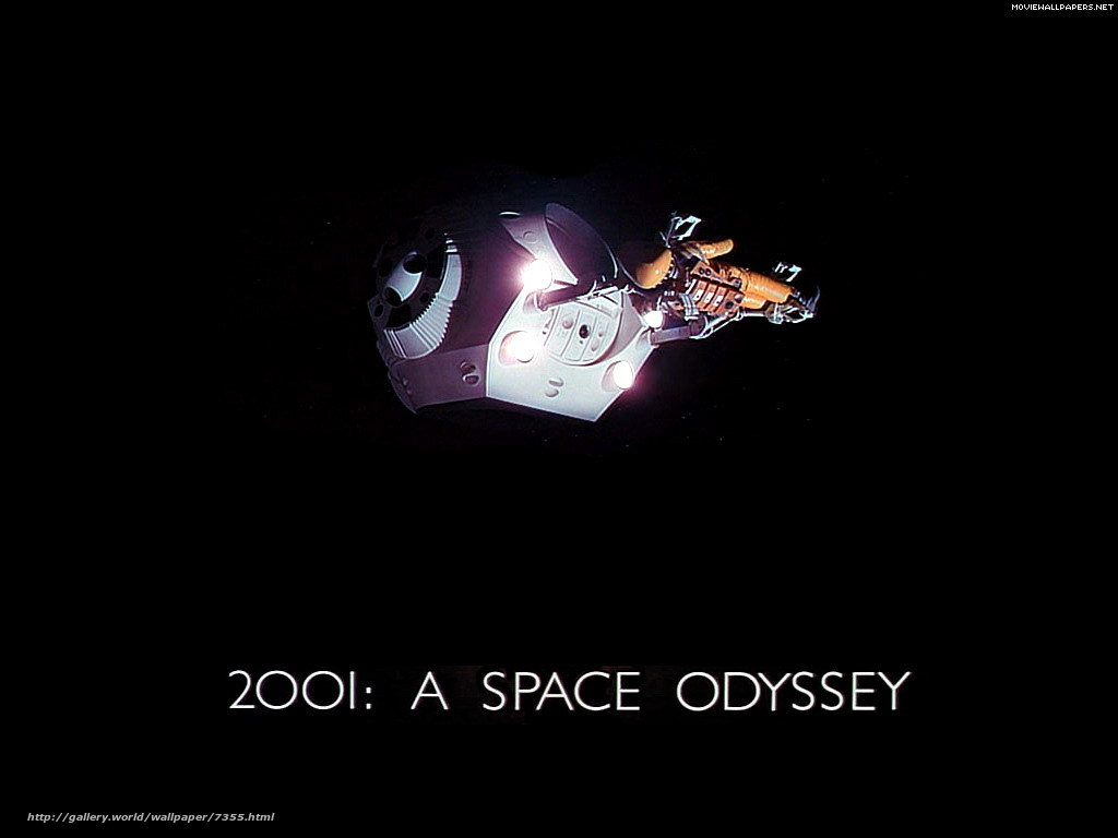 Download wallpaper 2001: A Space Odyssey,  2001: A Space Odyssey,  film,  movies free desktop wallpaper in the resolution 1024x768 — picture №7355
