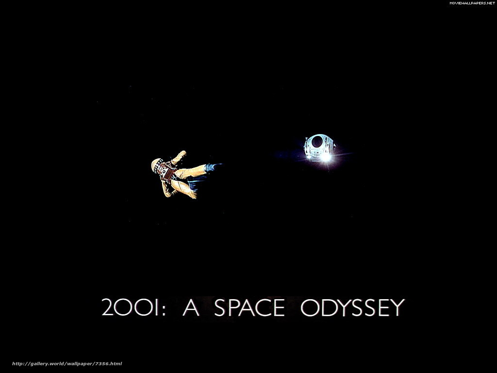 Download wallpaper 2001: A Space Odyssey,  2001: A Space Odyssey,  film,  movies free desktop wallpaper in the resolution 1024x768 — picture №7356