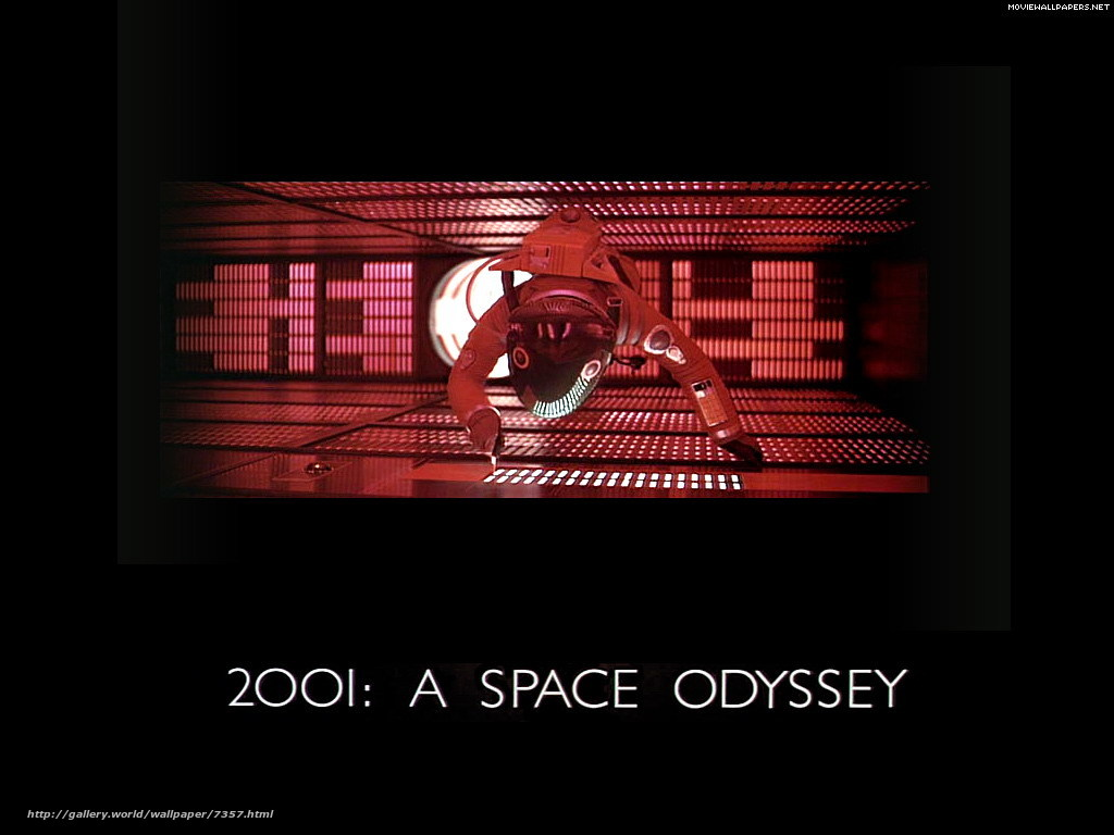 Download wallpaper 2001: A Space Odyssey,  2001: A Space Odyssey,  film,  movies free desktop wallpaper in the resolution 1024x768 — picture №7357