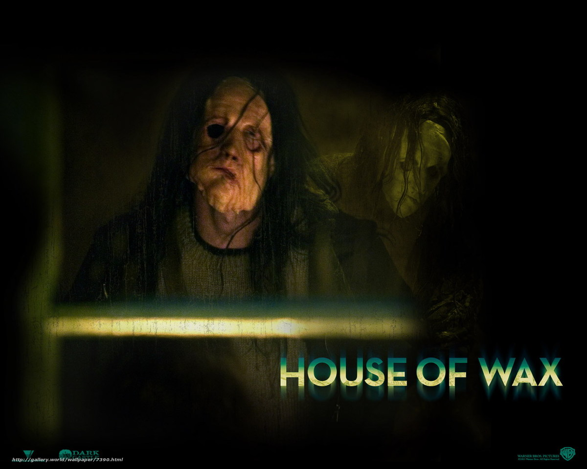 House of wax 3d blu-ray.