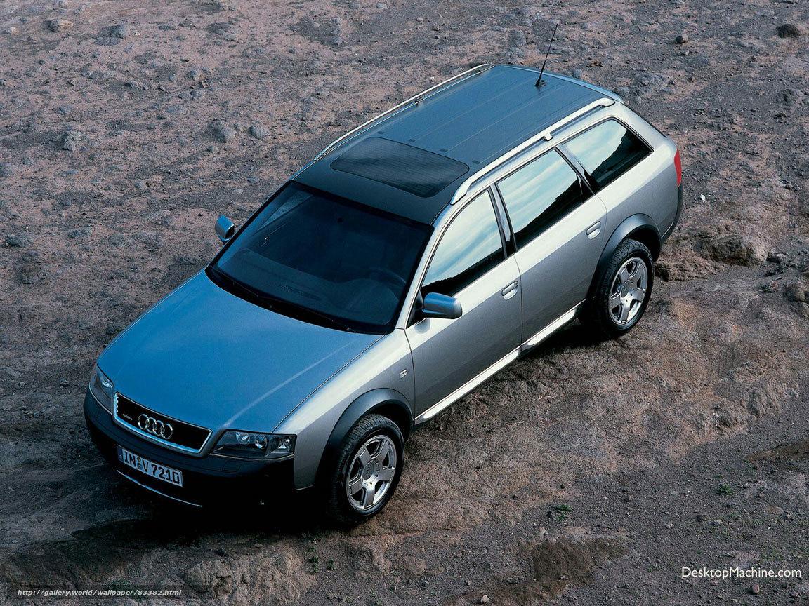 Download wallpaper Audi,  Allroad,  auto,  Machines free desktop wallpaper in the resolution 1152x864 — picture №83382