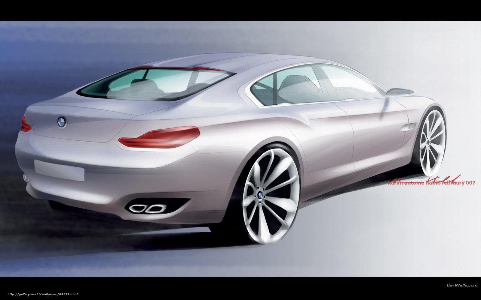 Скачать обои BMW,  Concept CS,  авто,  машины бесплатно для рабочего стола в разрешении 1920x1200 — картинка №85132