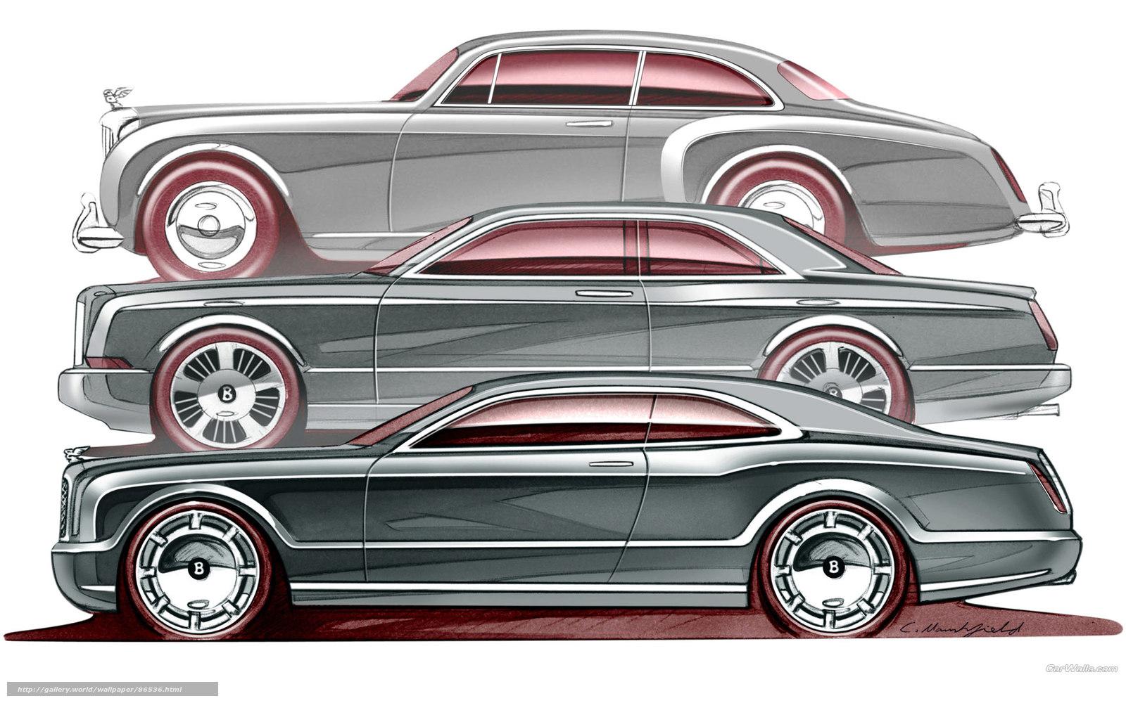 Download wallpaper Bentley,  Brooklands,  auto,  Machines free desktop wallpaper in the resolution 1920x1200 — picture №86536