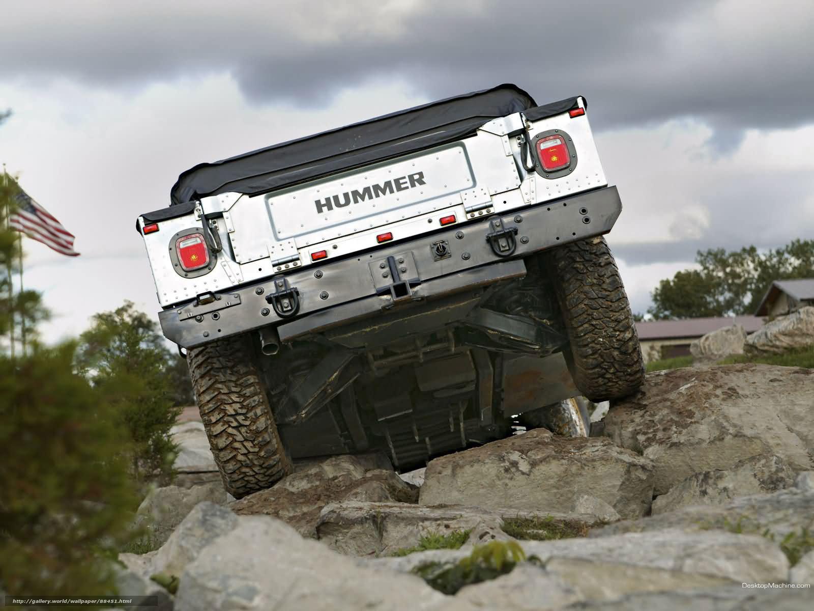Скачать обои Hummer,  H1,  авто,  машины бесплатно для рабочего стола в разрешении 1600x1200 — картинка №88451