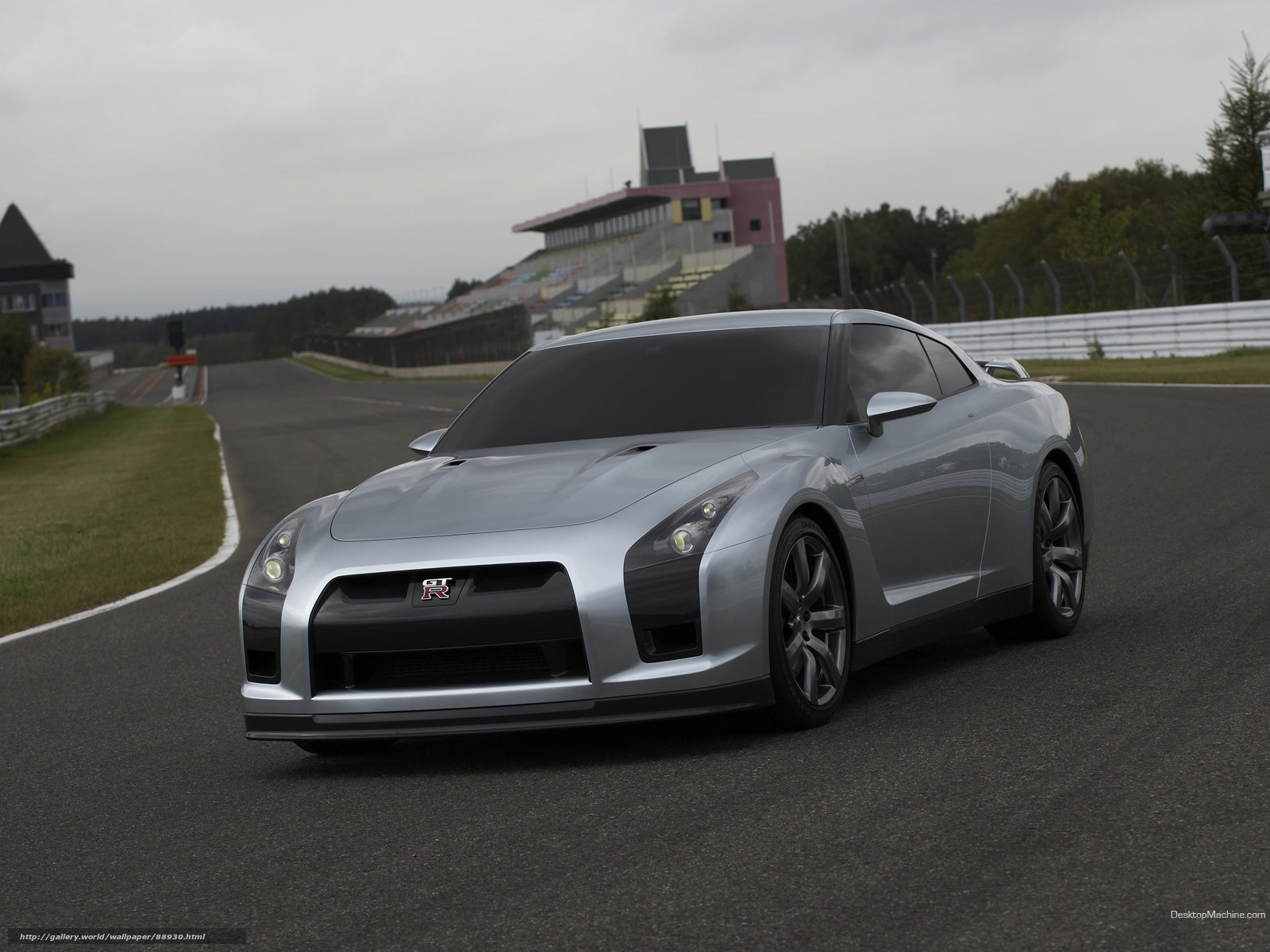 Download wallpaper Nissan,  GT-R,  auto,  Machines free desktop wallpaper in the resolution 1600x1200 — picture №88930