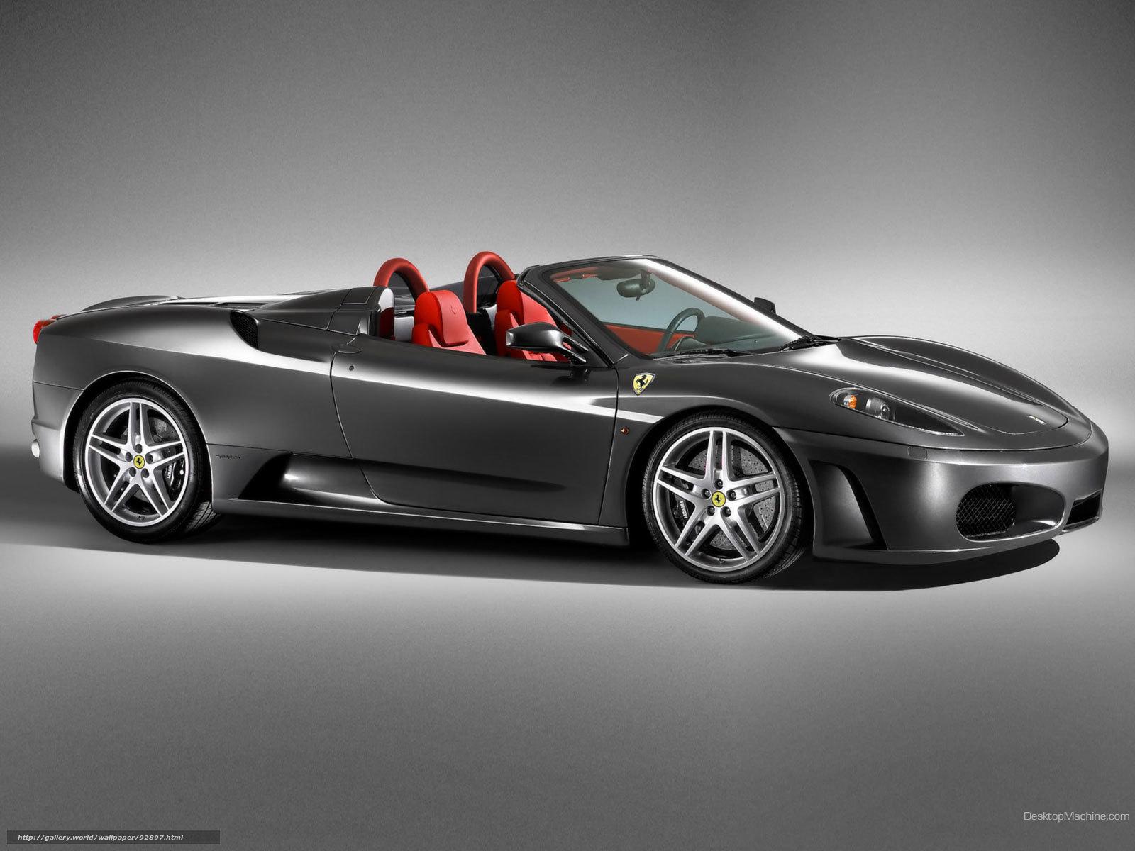 scaricare gli sfondi Ferrari,  F430,  Auto,  macchinario Sfondi gratis per la risoluzione del desktop 1600x1200 — immagine №92897