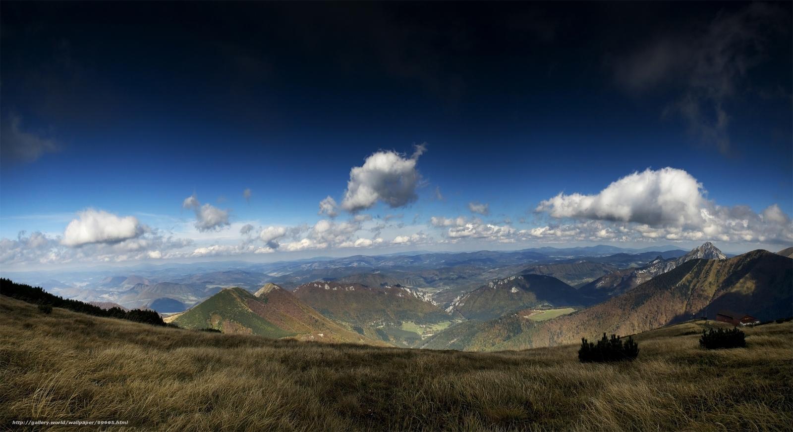 Download Hintergrund Gebirge,  Tal Freie desktop Tapeten in der Auflosung 2200x1200 — bild №99995