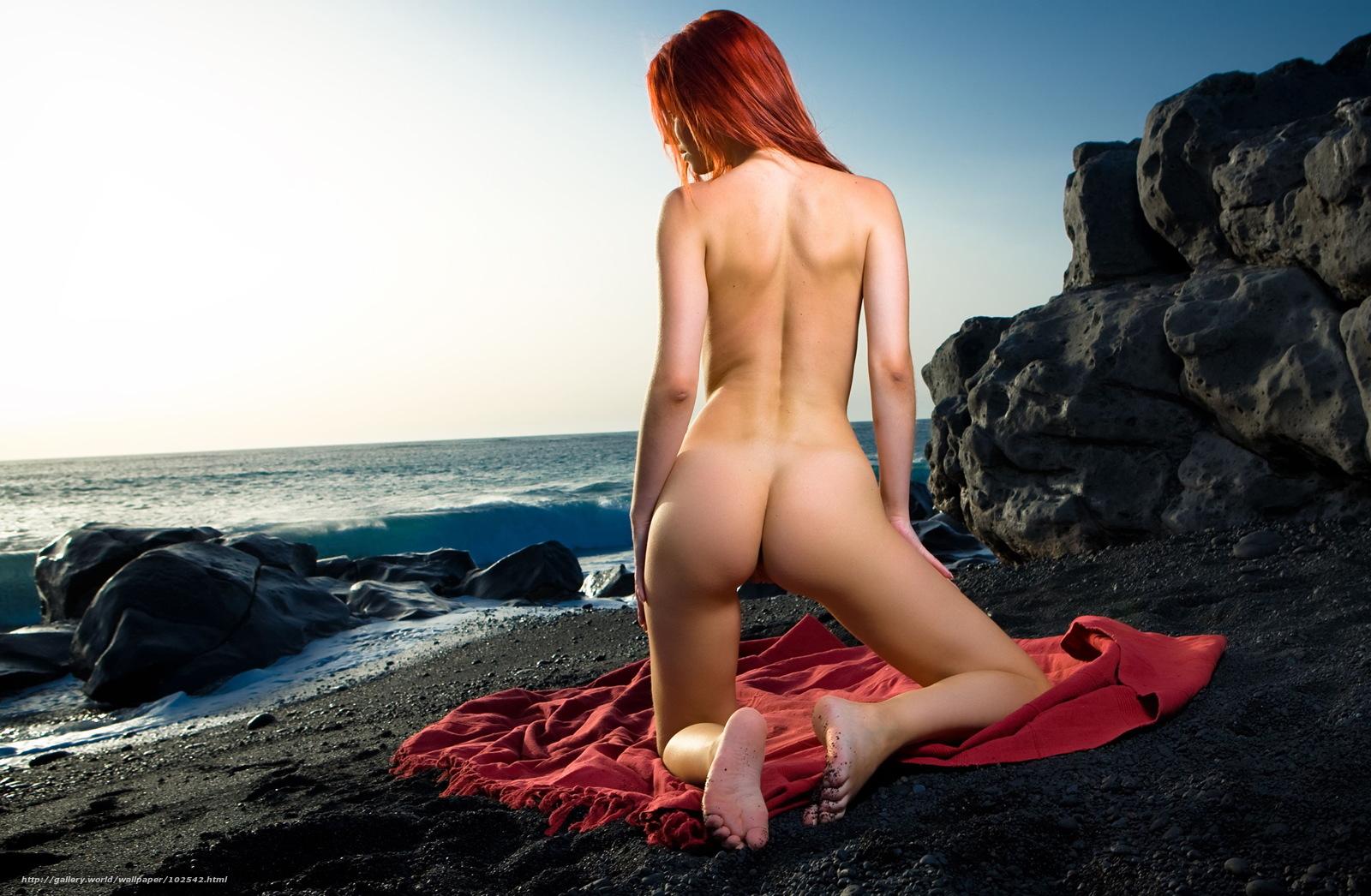 Рыжая девушка обои эротика 21 фотография