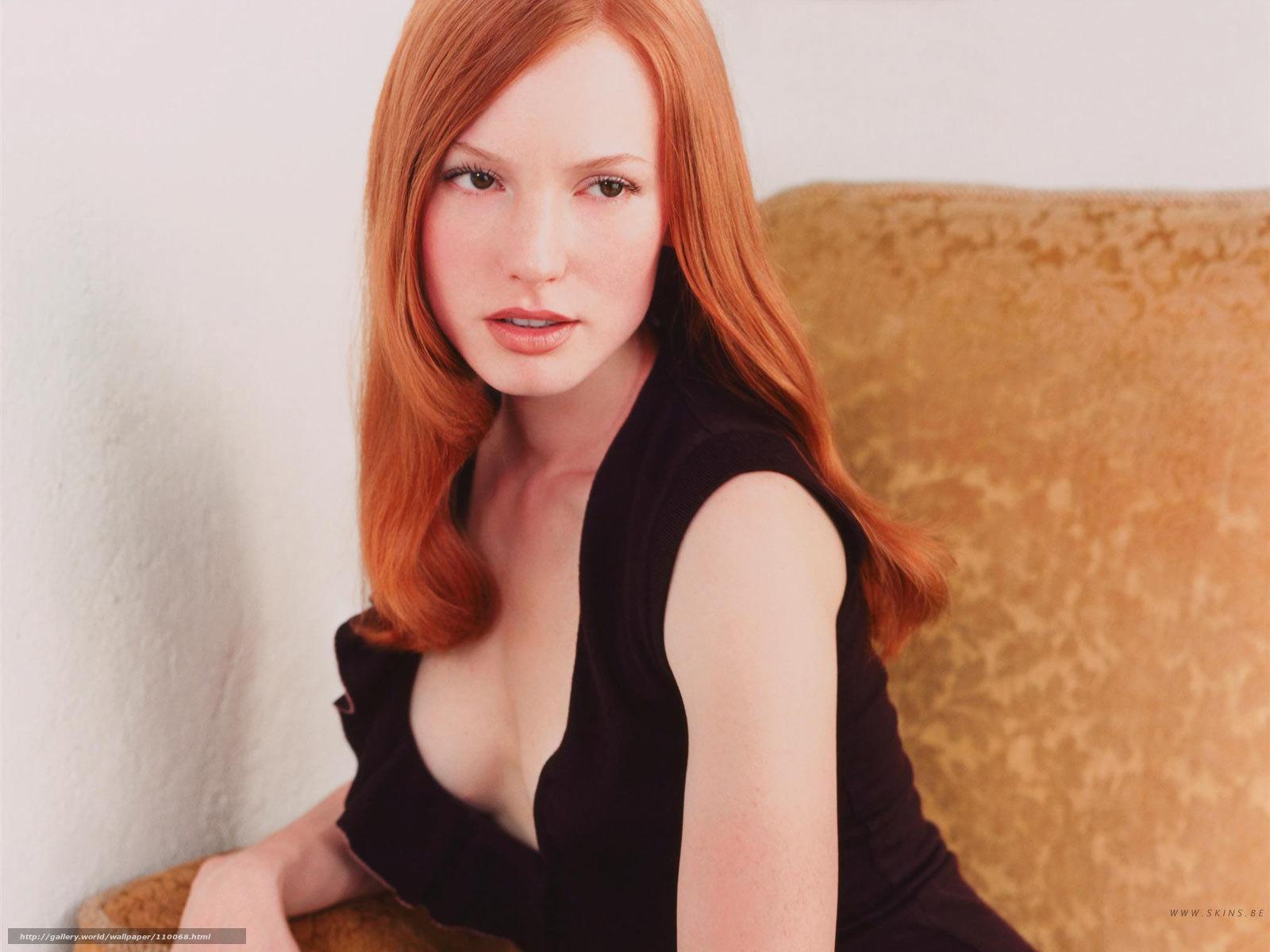 Фотографии красивой рыжей девушки 17 фотография