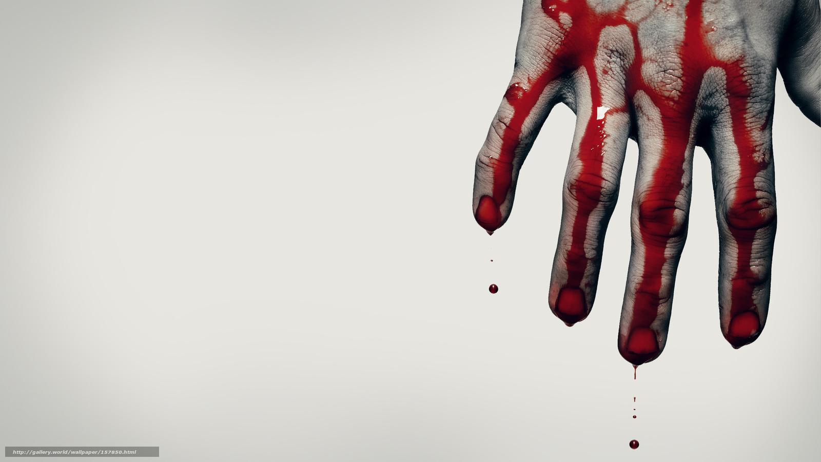 К чему снится кровь на руках своих