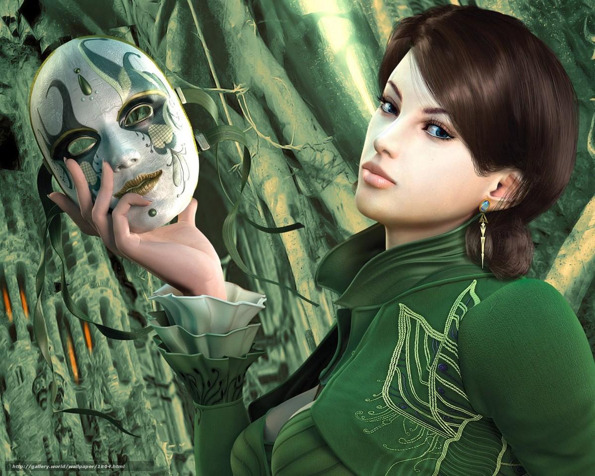 Реальные девушки в масках и костюмах 11 фотография