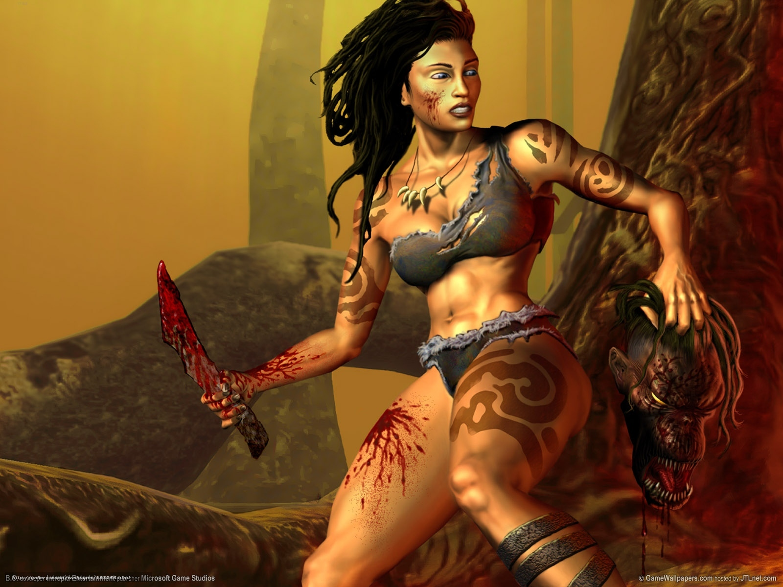 Warrior women fantasy porn sex toons