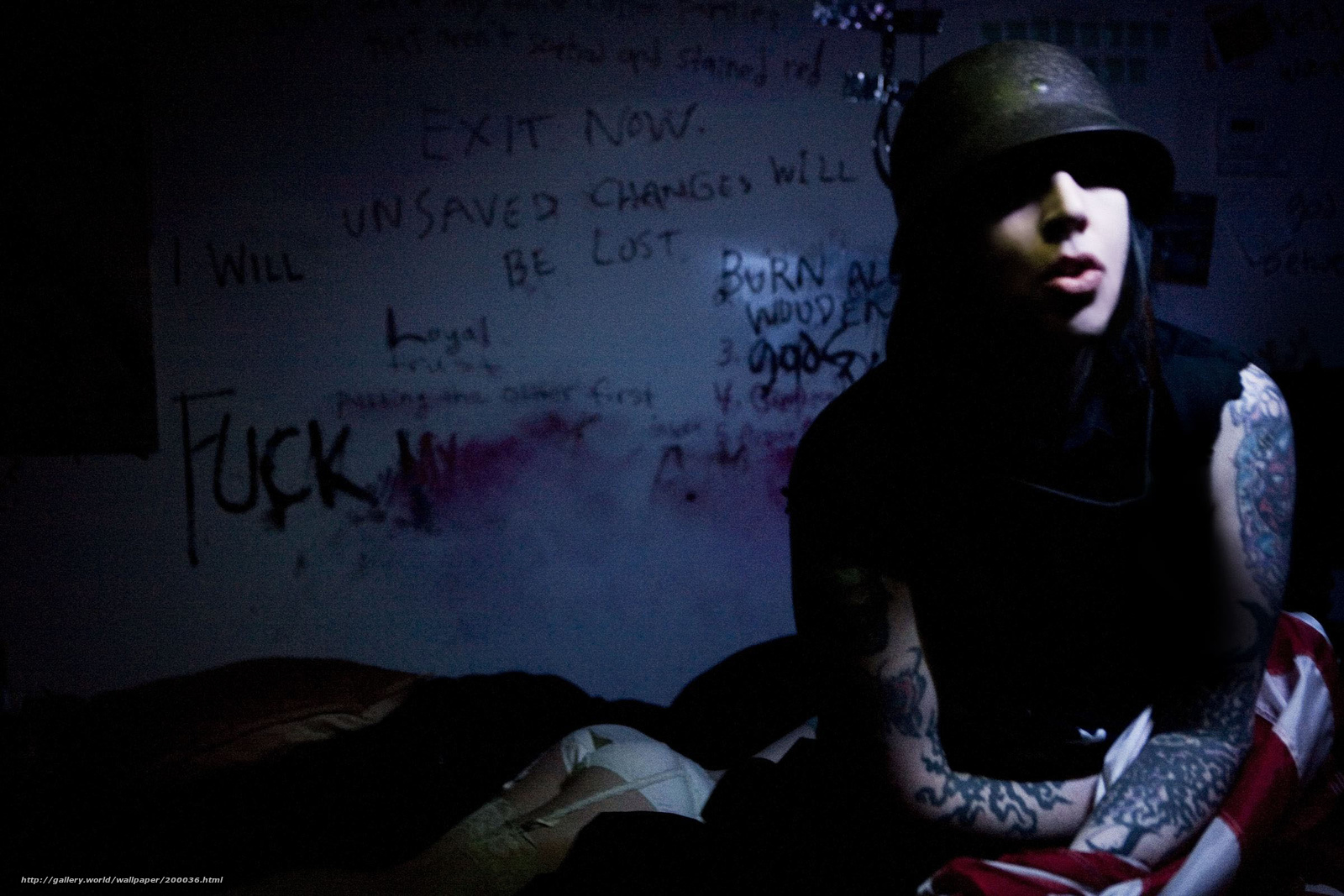 Uplifting, psychedelic и тп marilyn manson - the high end of low 2009