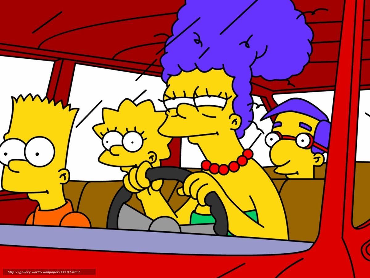 Симпсоны голие картинки барта 1 фотография