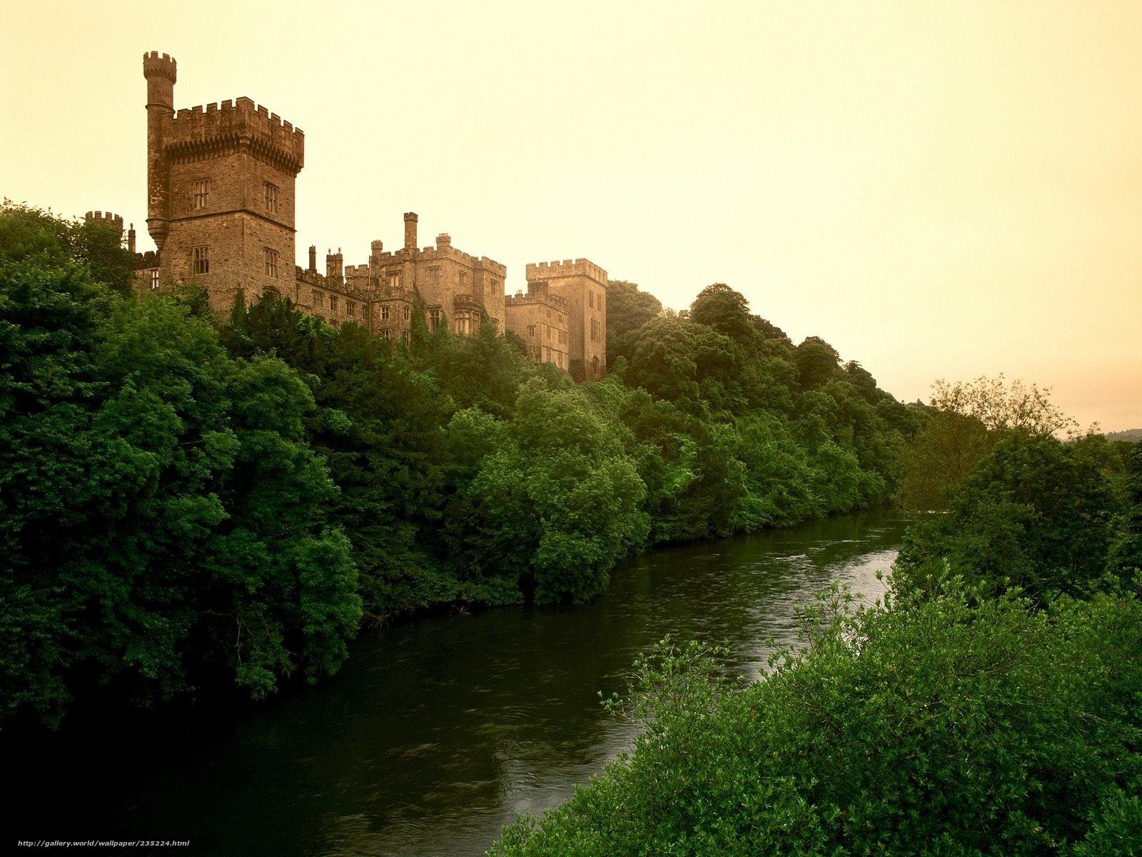 река, англия, замок