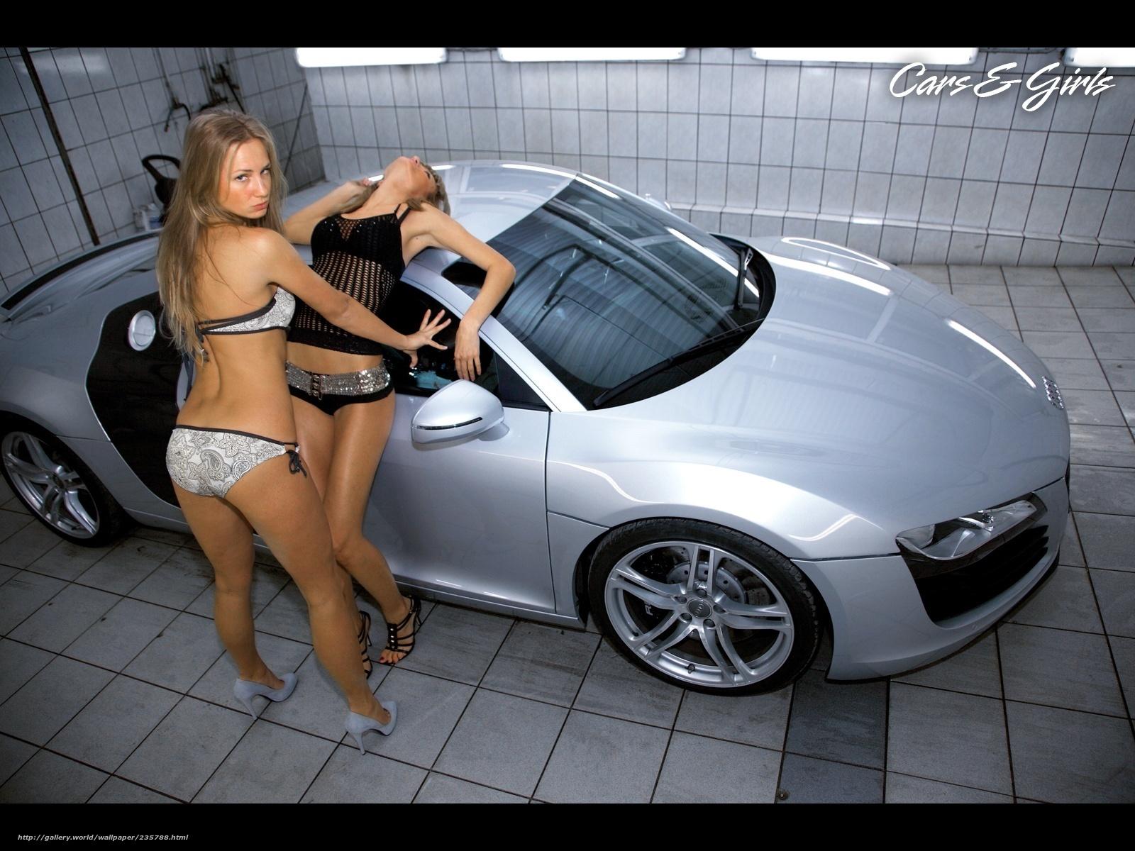 Фотки девушек около машин 19 фотография