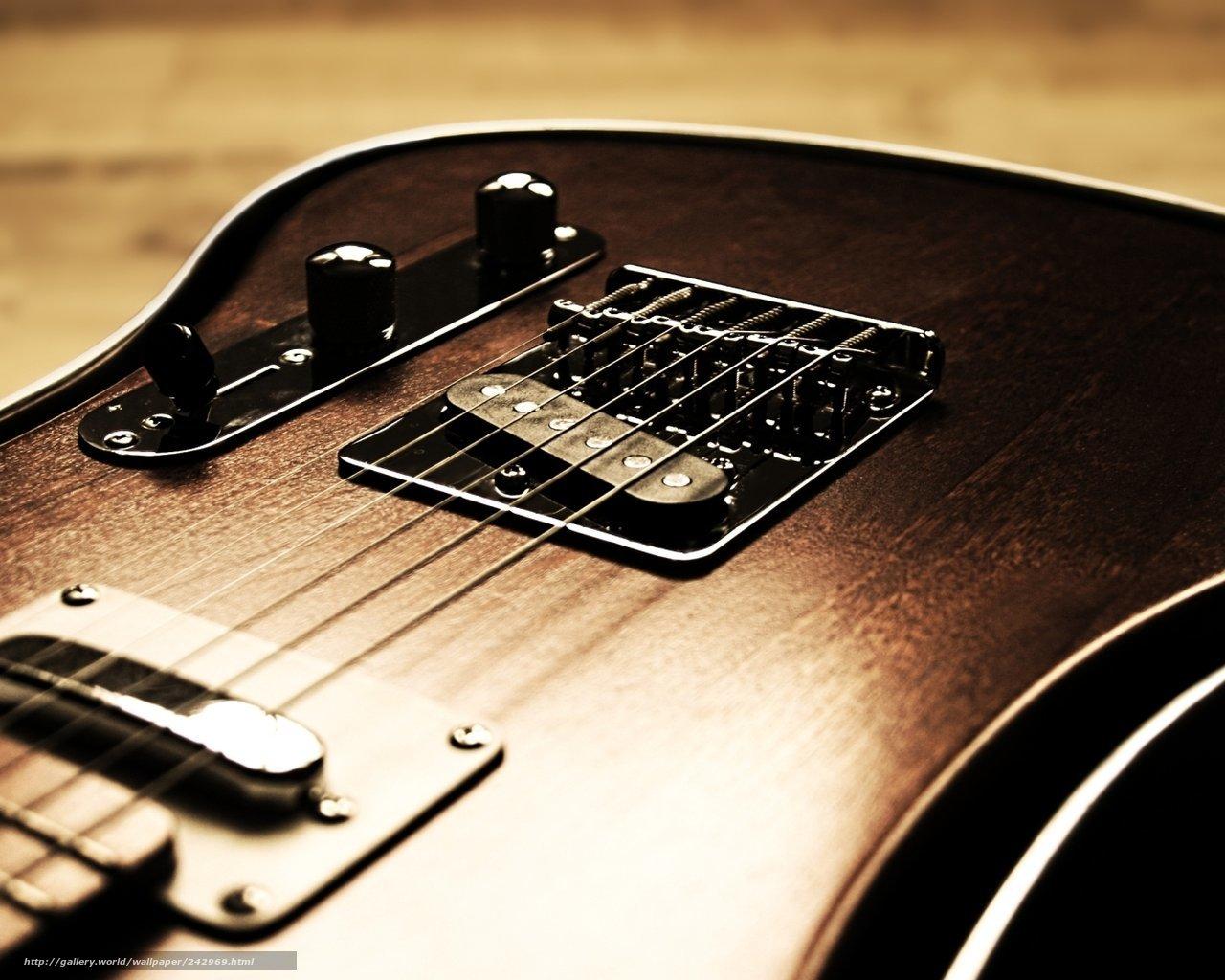 Обои для рабочего стола гитары широкоформатные