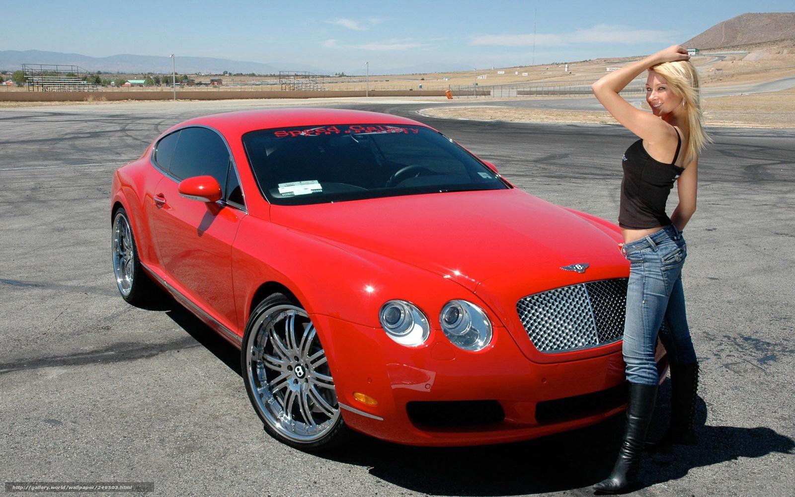 Красивые девушки и дорогие машины фото и