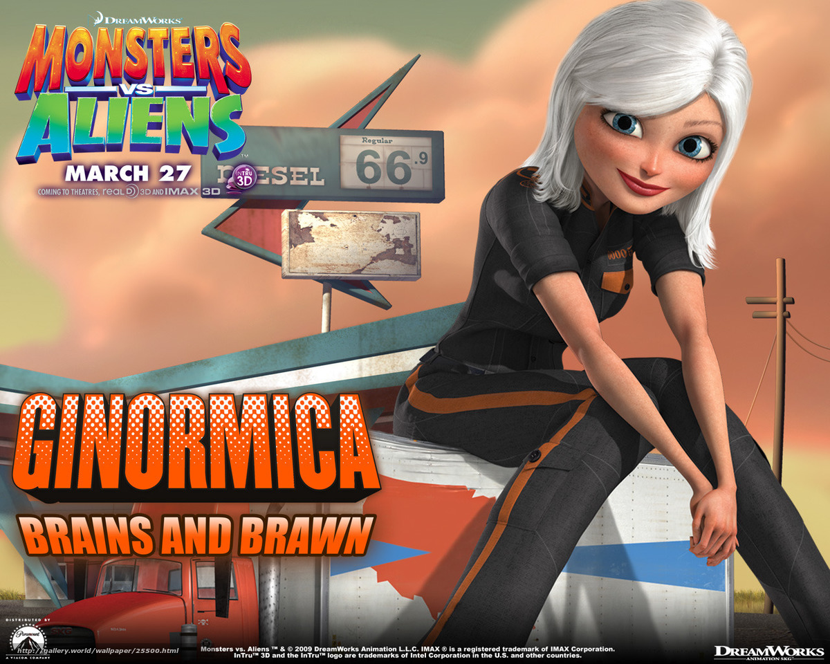 Monsters vs aliens susan nackt movie