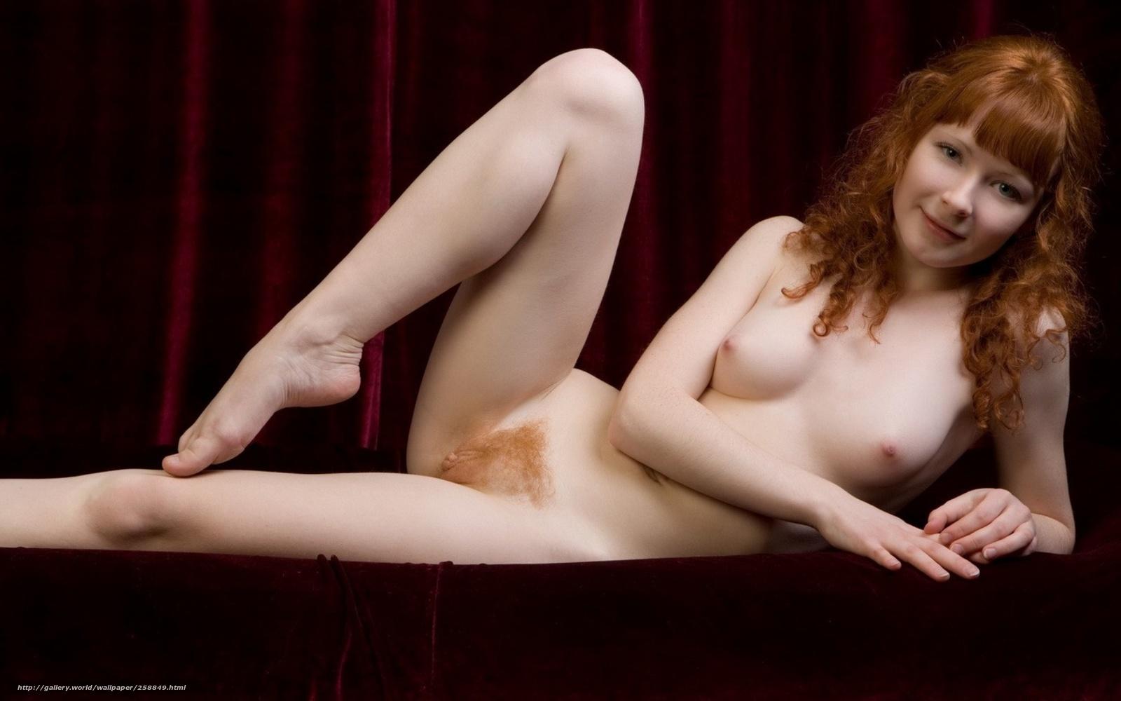 Рыжие небритые голые девушки 17 фотография