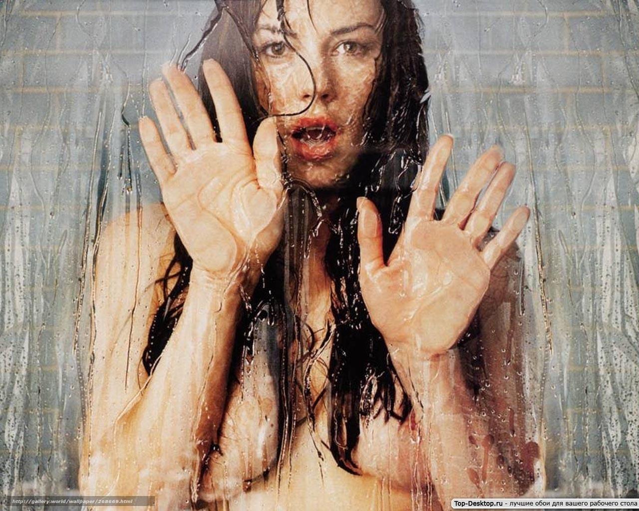 Девушка принимает душ 17 фотография