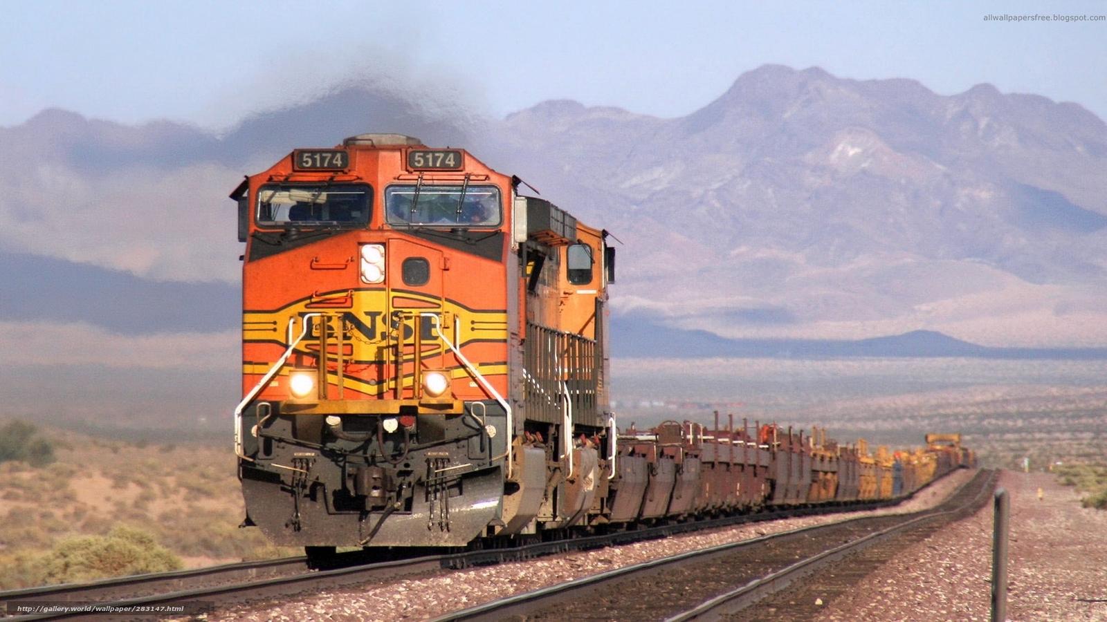 Fotos de trenes de carga
