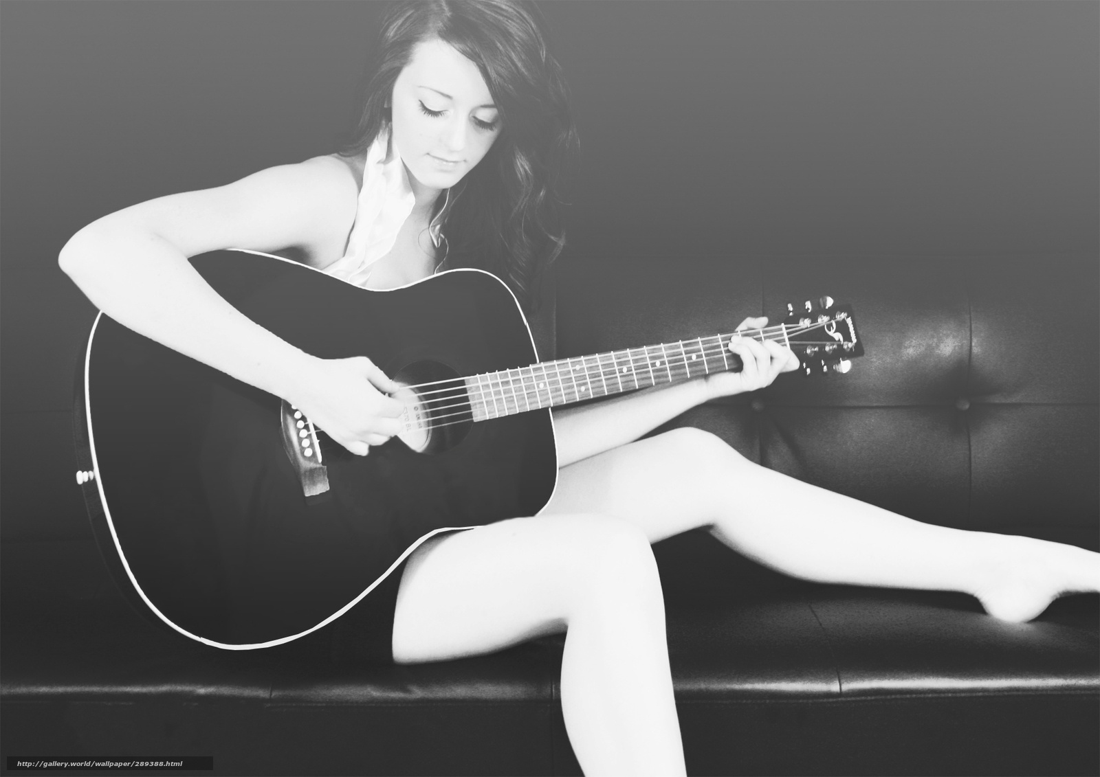 Красивые девушки с гитарами 16 фотография