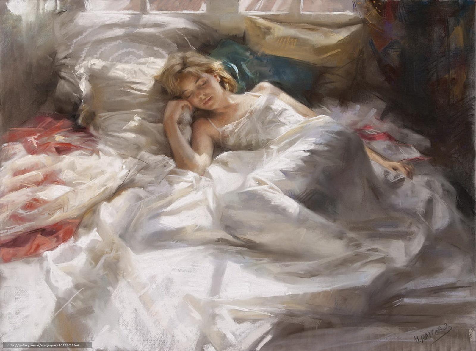 Спящая девушка дома 18 фотография