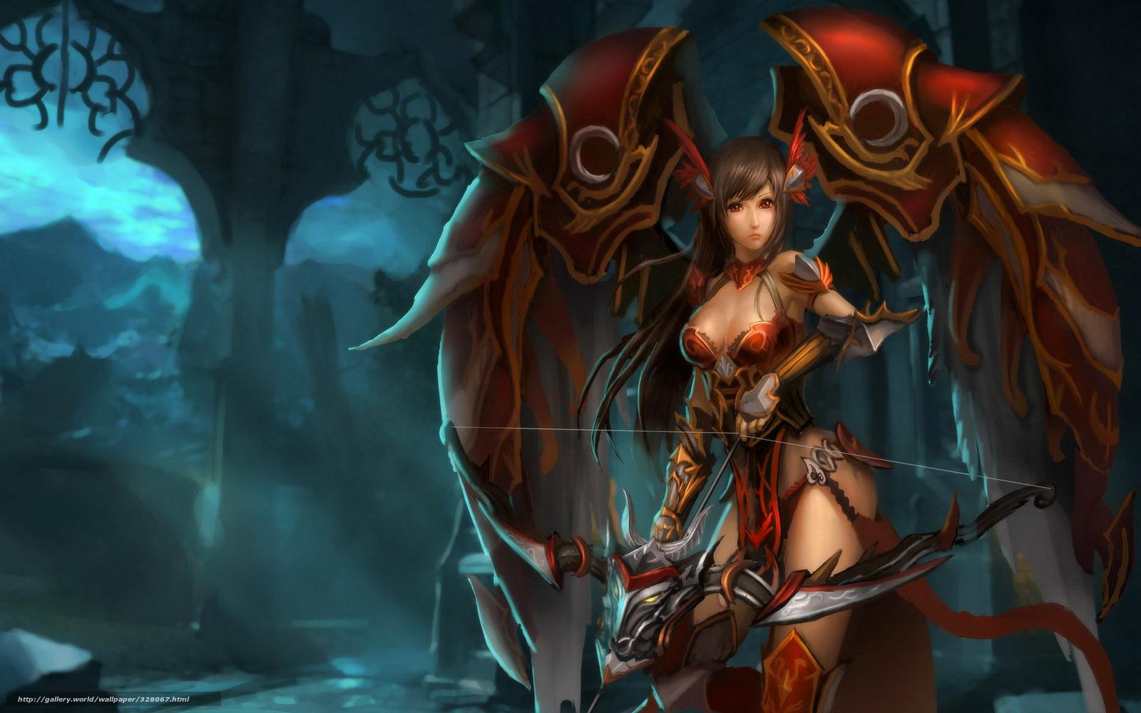 Nude fantisy warrior girls exposed scene