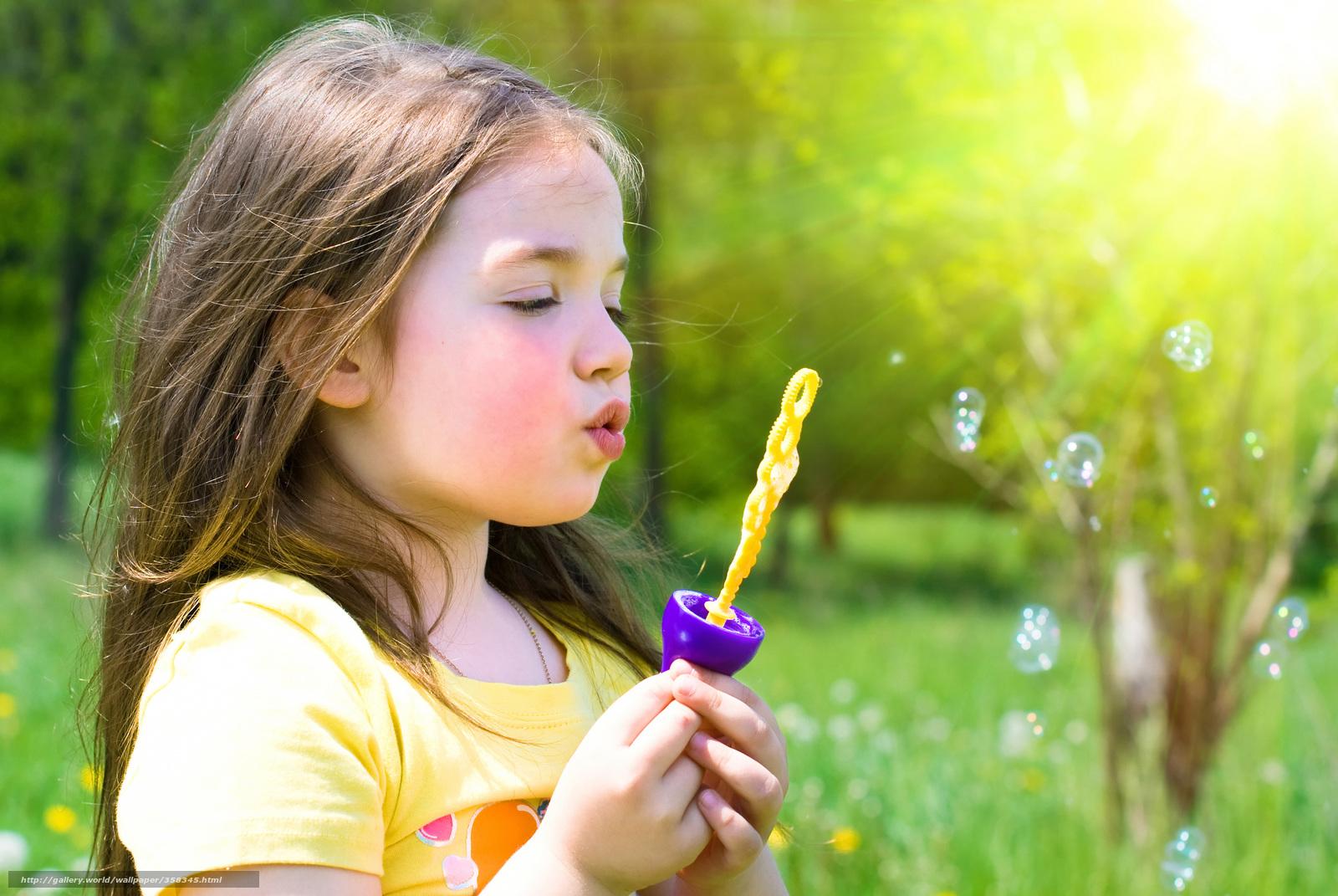 Как сделать красивые на природе детей