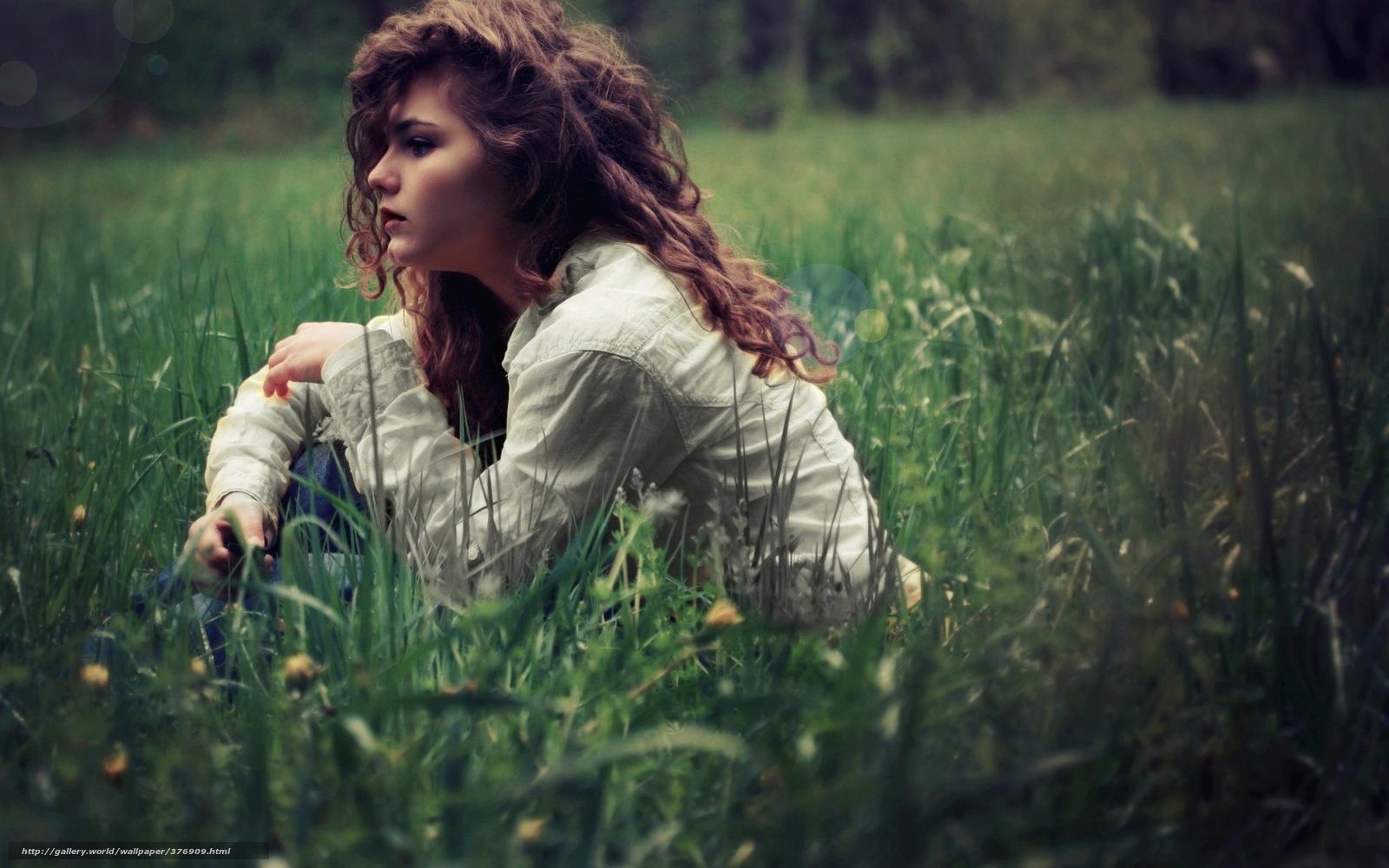 Одиночество фото девушки брюнетки