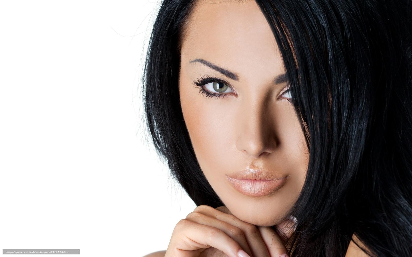Стрижки девушек брюнеток лицо 14 фотография