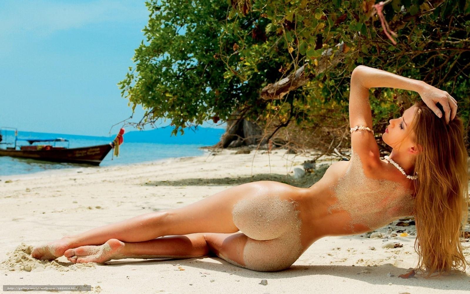 Самые красивые голые на пляже 5 фотография