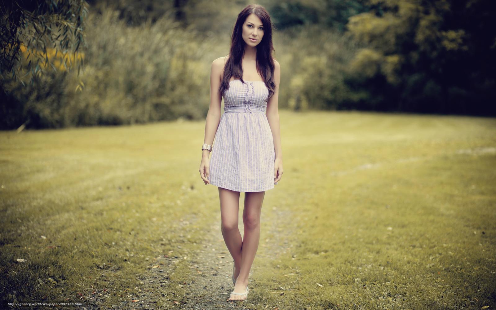 Смотреть девушка фото в платье 16 фотография